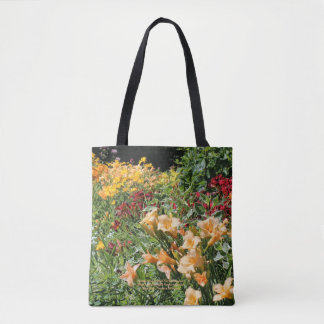 Colorful Mid-Summer Garden Bouquets! Tote Bag