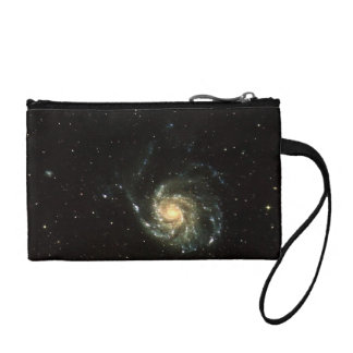 colorful milky way galaxy solar system coin wallet