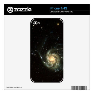 colorful milky way galaxy solar system iPhone 4 decal