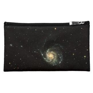 colorful milky way galaxy solar system makeup bag