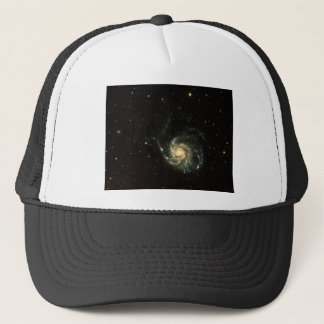 colorful milky way galaxy solar system trucker hat