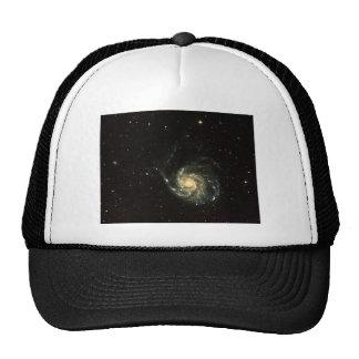 colorful milky way galaxy solar system trucker hat