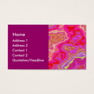 Colorful Mineral 02 Business Card