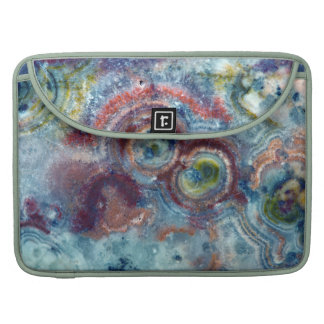 Colorful Mineral Stone Closeup MacBook Pro Sleeve