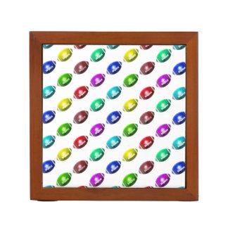 Colorful Mini Football Pattern Desk Organizer