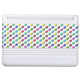 Colorful Mini Football Pattern Igloo Cooler