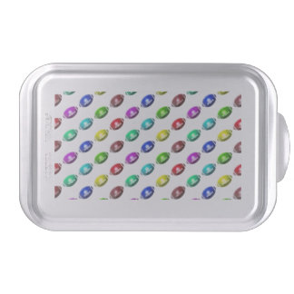 Colorful Mini Football Pattern Cake Pan