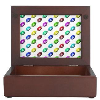 Colorful Mini Football Pattern Memory Box