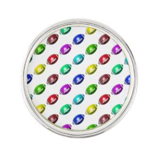 Colorful Mini Football Pattern