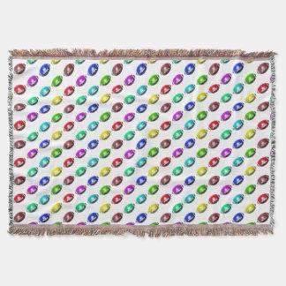 Colorful Mini Football Pattern Throw