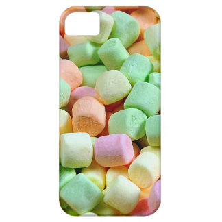 Colorful miniature marshmallow print iPhone SE/5/5s case