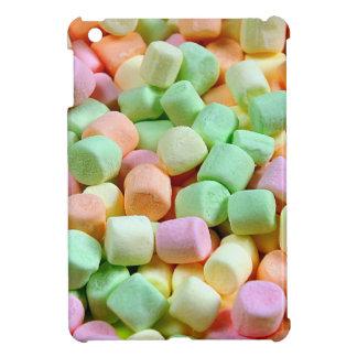 Colorful miniature marshmallows print cover for the iPad mini