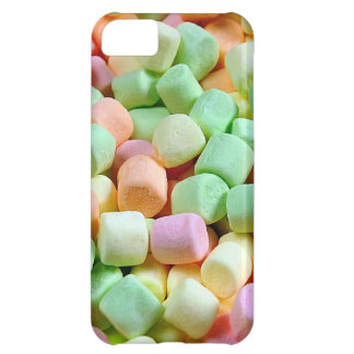 Colorful miniature marshmallows print iPhone 5C cover