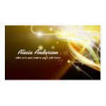 colorful miracle business card