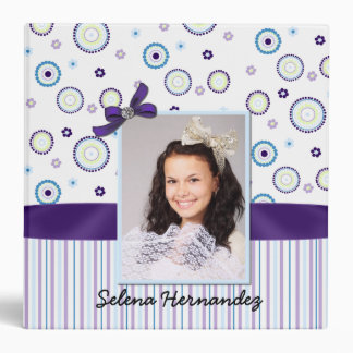 Colorful Mis Quince Memory Binder