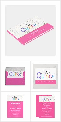 COLORFUL MIS QUINCE PARTY