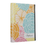 Colorful Mod Florals iPad Case