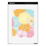 Colorful Mod Florals Skin For iPad 3