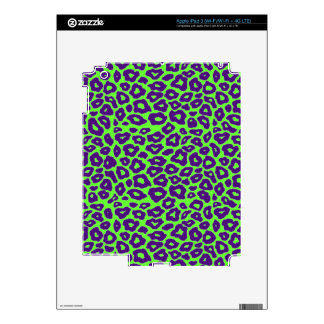 Colorful Mod Leopard iPad 3 Decals