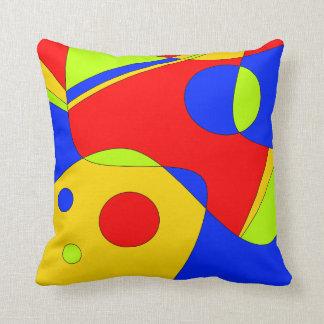 Colorful Mod Throw Pillow