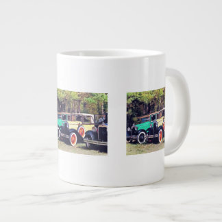 Colorful Model A's Extra Large Mugs