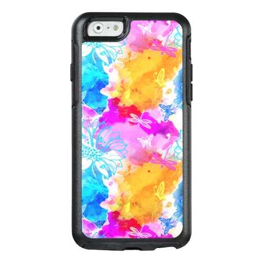 colorful modern abstract art OtterBox iPhone 6/6s case