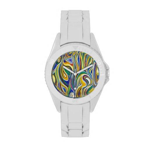 Colorful Modern art Watch