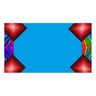 Colorful Modern Bold Spectrum Geometric Fun 13 Business Card