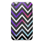 Colorful Modern Chevron iPhone 3 Case-Mate Cases