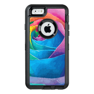colorful modern floral abstract art OtterBox iPhone 6/6s case