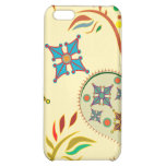 Colorful Modern Floral Pern iPhone 5C Covers