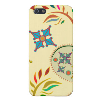 Colorful Modern Floral Pern iPhone SE/5/5s Cover