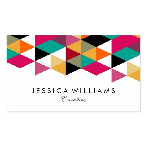 Modern Colorful Business Card Design 28 Images