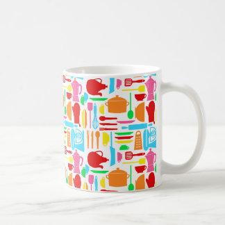 Colorful Modern Kitchenware Classic White Coffee Mug