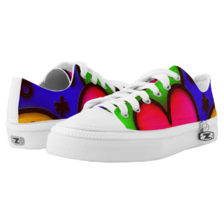colorful modern love 2 Low-Top sneakers