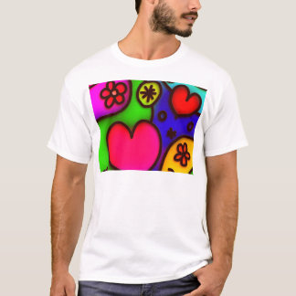 colorful modern love 2 T-Shirt