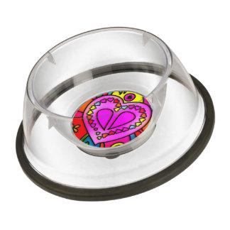 colorful modern love bowl