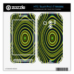 Colorful modern pattern HTC touch pro2 skins