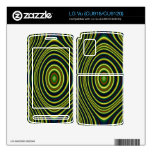 Colorful modern pattern skin for the LG vu