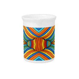 Colorful Modern Southwest Pattern Drink Pitcher