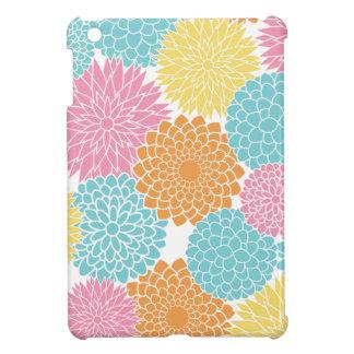 Colorful Modern Spring Flowers iPad Mini Case