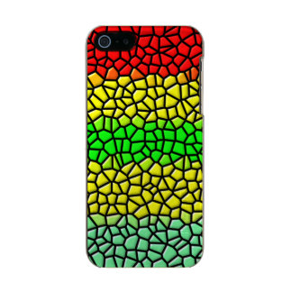 colorful modern stained glass metallic iPhone SE/5/5s case