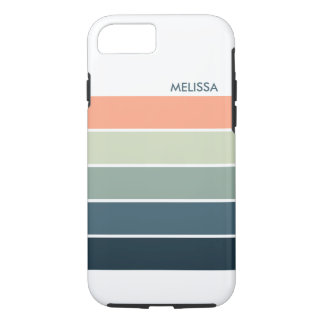 Colorful Modern Stripes G1 iPhone 8/7 Case