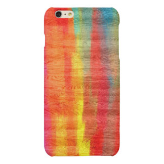 Colorful Modern Wood Grain Background #11 Matte iPhone 6 Plus Case