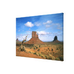 Colorful Monument Valley Mittens in Utah USA Stretched Canvas Prints