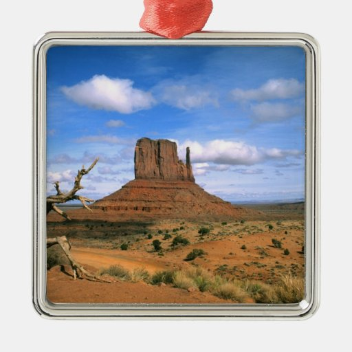 Colorful Monument Valley Mittens in Utah USA Christmas Tree Ornament