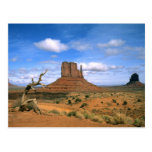 Colorful Monument Valley Mittens in Utah USA Post Cards