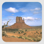 Colorful Monument Valley Mittens in Utah USA Square Stickers