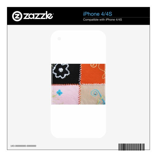 Colorful Mood iPhone 4S Decal
