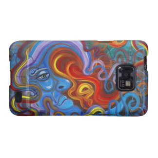 Colorful Moon Case-Mate Case Galaxy SII Cover